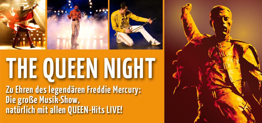 Die Musik-Show - zu Ehren von Freddy Mercury